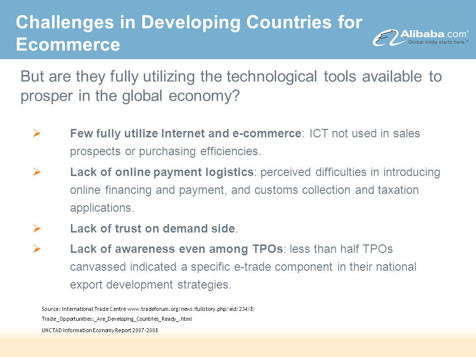 DRAFT – Strictly Confidential A New Gateway to Global Trade 22/10/2014 00:03OPENSESAME\Presentations\Analyst Presentation\Analyst Presentation (08.27.07).ppt 5 Challenges Solutions The advent of eMarketplaces has helped to address many of these issues...