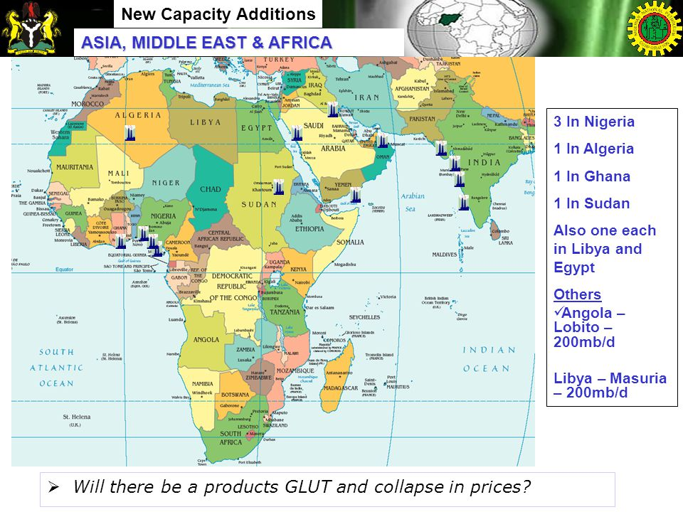 New Capacity Additions  Will there be a products GLUT and collapse in prices.