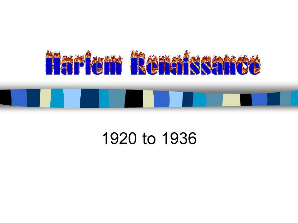 1920 to 1936