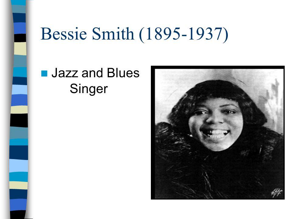Bessie Smith (1895-1937) Jazz and Blues Singer