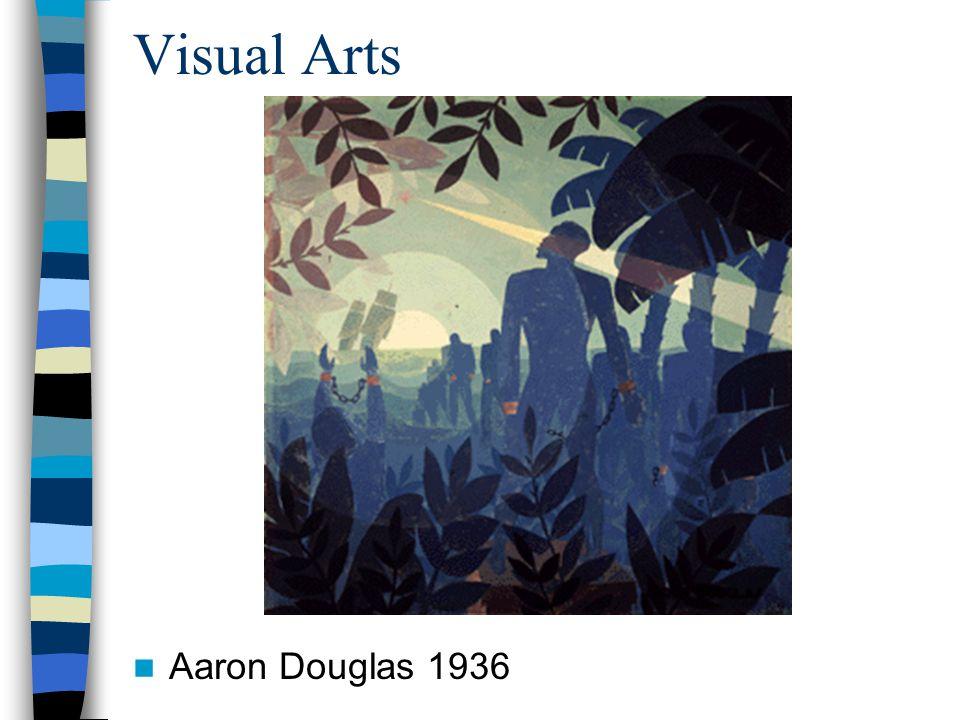 Visual Arts Aaron Douglas 1936