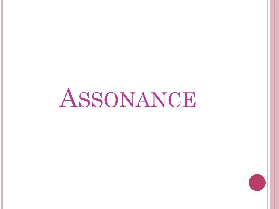 A SSONANCE