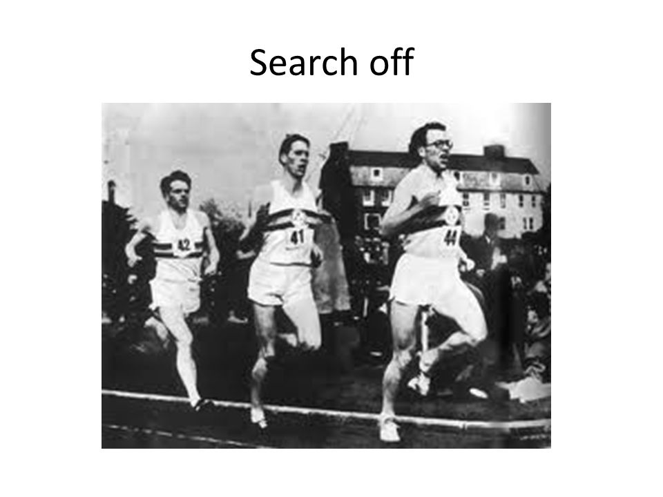 Search off