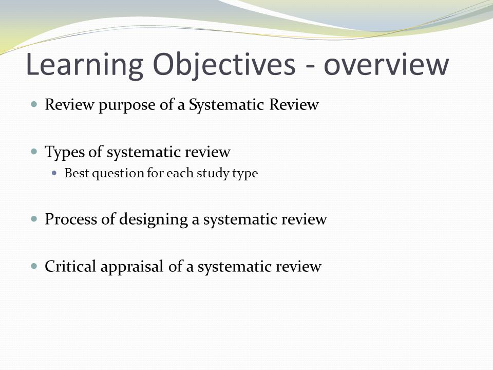 Cochrane review process 1.Register title with Review Group 2.