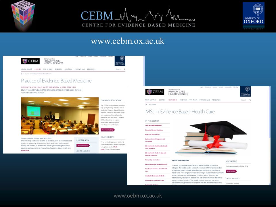 www.cebm.ox.ac.uk