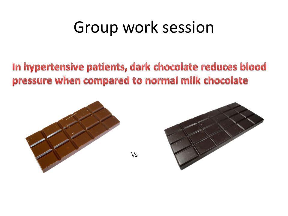 Group work session Vs
