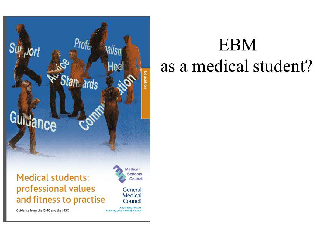 EBM as a medical student?