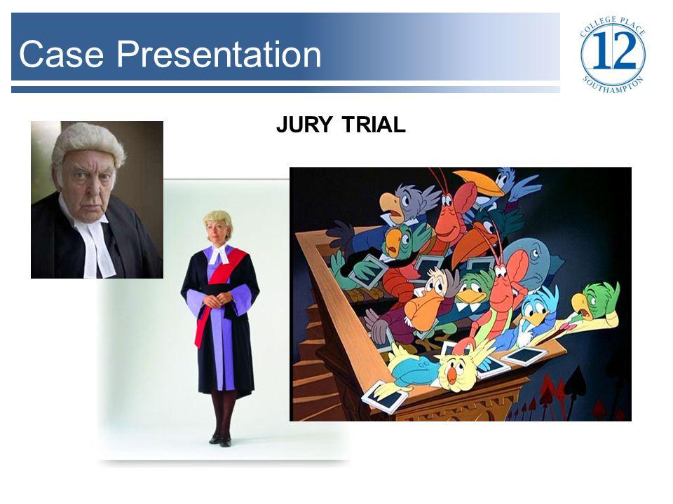 Case Presentation JURY TRIAL