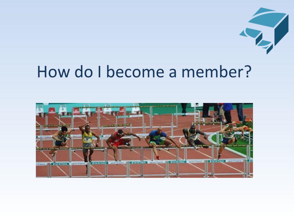 How do I become a member