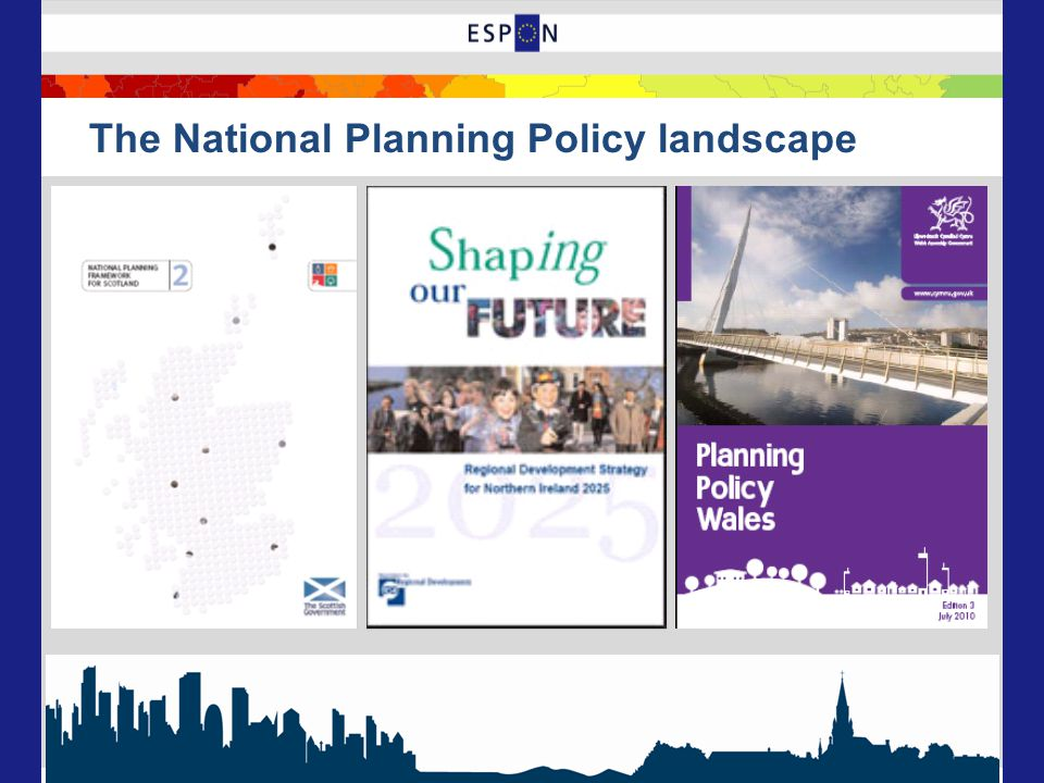 The National Planning Policy landscape