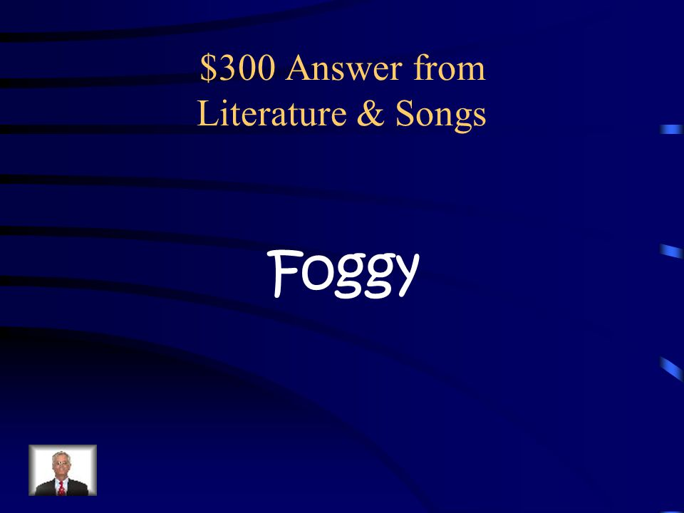 $300 Question from Literature & Songs In the song about Rudolf, what is the weather like on Christmas Eve