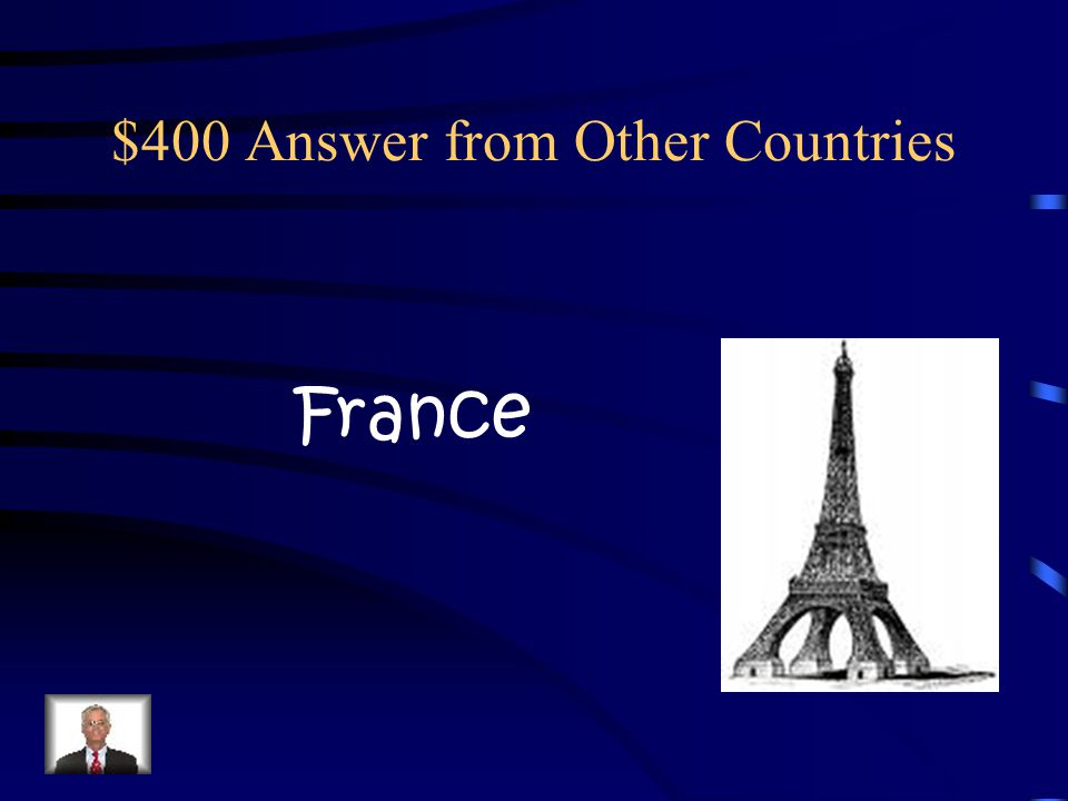 $400 Question from Other Countries In what country would someone Wish you Joyeux Noel