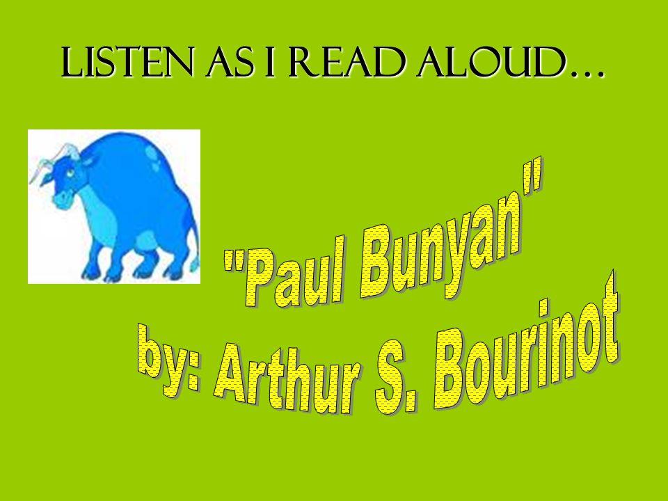 Listen as I read aloud…