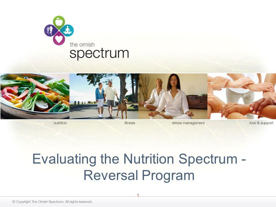 1 Evaluating the Nutrition Spectrum - Reversal Program