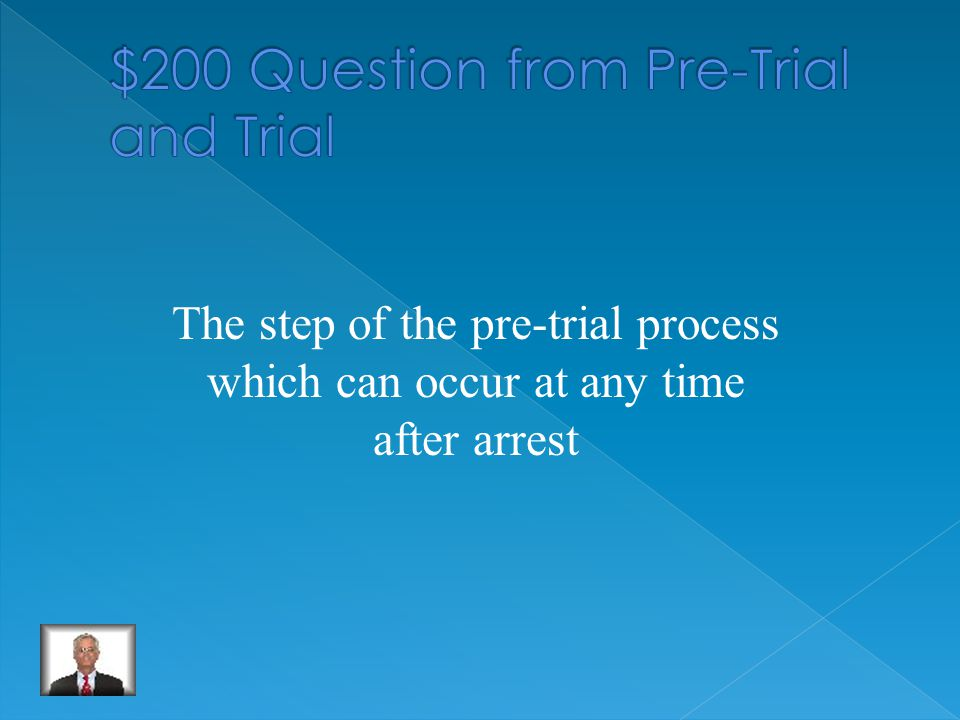 What is an arrest.