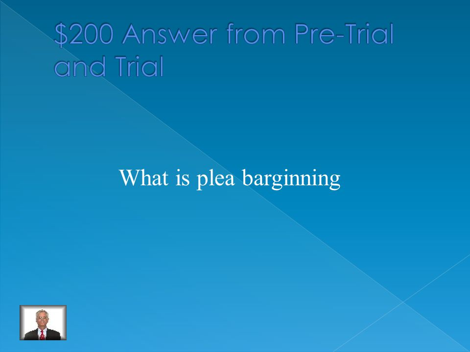The step of the pre-trial process which can occur at any time after arrest