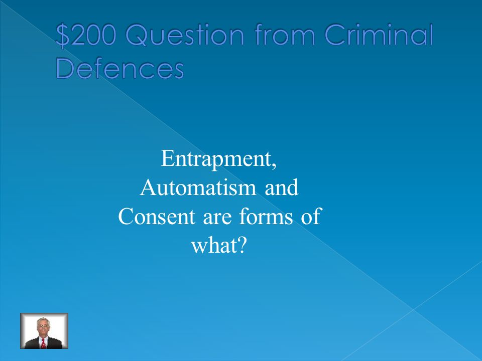 Who is a Defence Attorney/ an accused