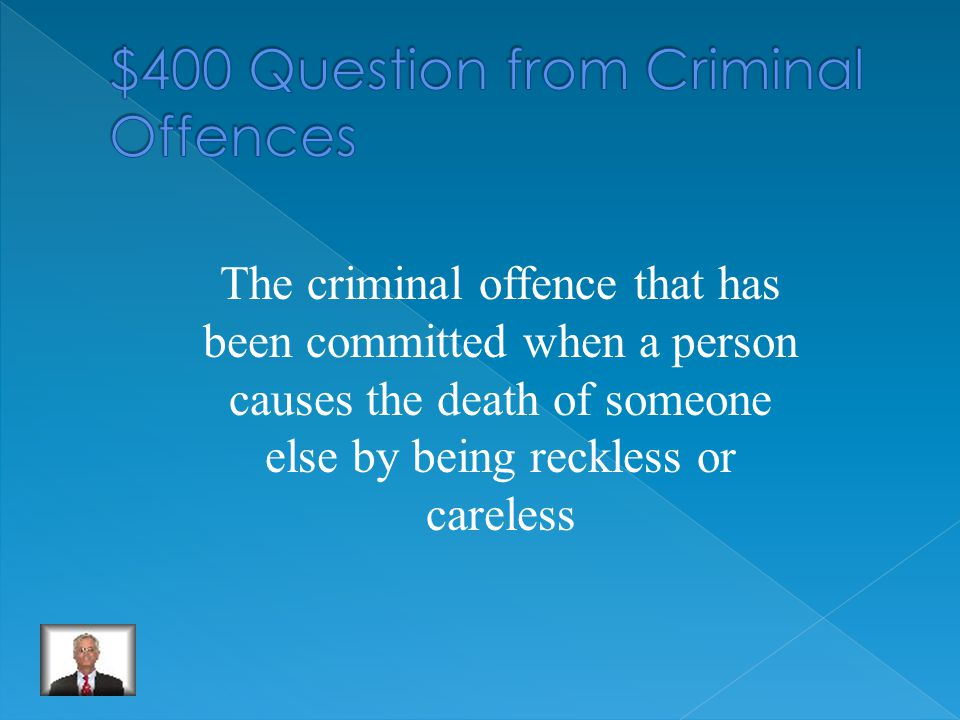 Indictable offences.