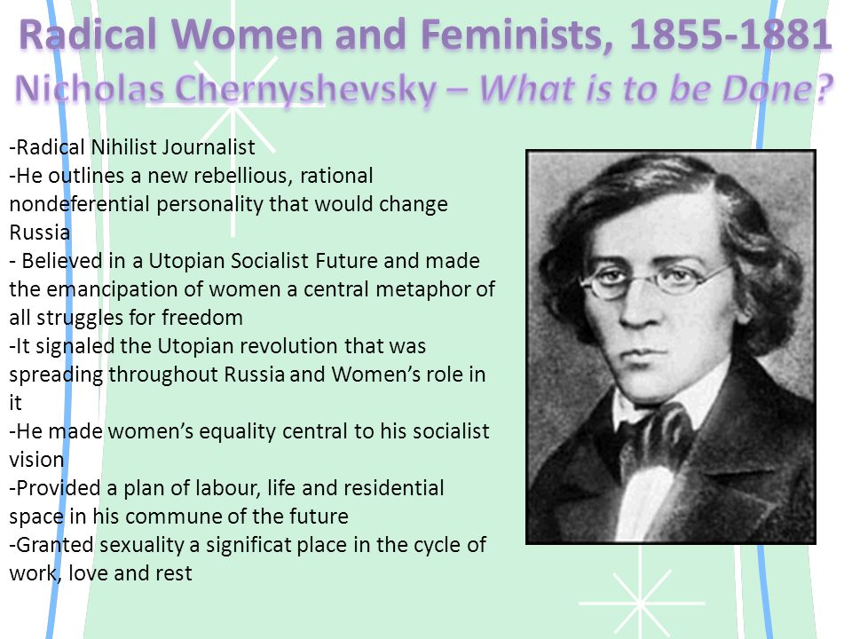 -The women question in Tsarist Russia remained a major issue right up and into World War One -Thousands of women graduating from university had entered the professional life; and hundreds went to jail or Siberia because of their roles in the revolution -The female terrorist was the Russia counterpart to the British Suffragettes - but far more violent -Organized feminists agitated for important reforms in the status of women and won legislative victories in legal, educational and property rights, though mainly for women in the upper class
