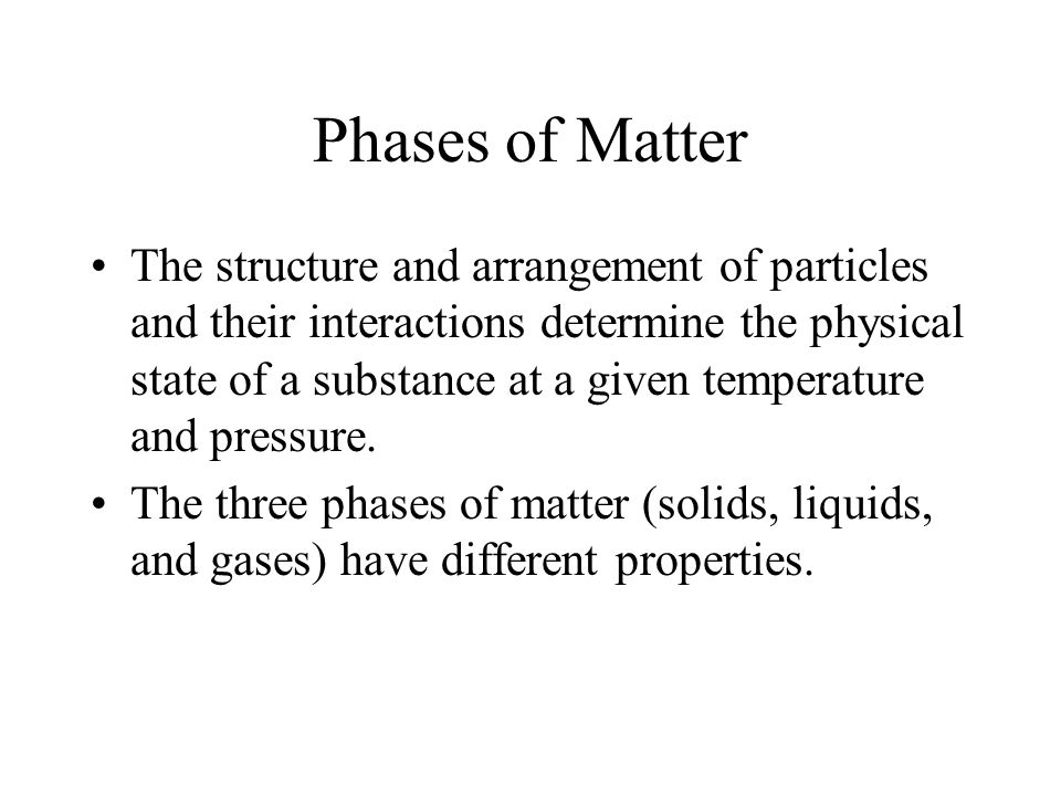 October 17 Objective: What are the characteristics of each state of matter? How to determine the amount of heat needed to change state?