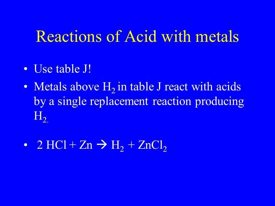 "Always Use Ref. Tables Acids ending = ""- ic"" Bases = Metal + hydroxide (vinegar)"