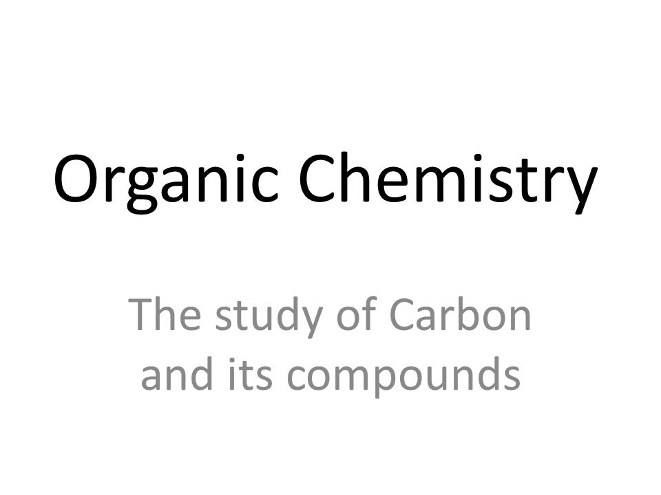 Forming Aldehydes Start with a carbon chain (butane).