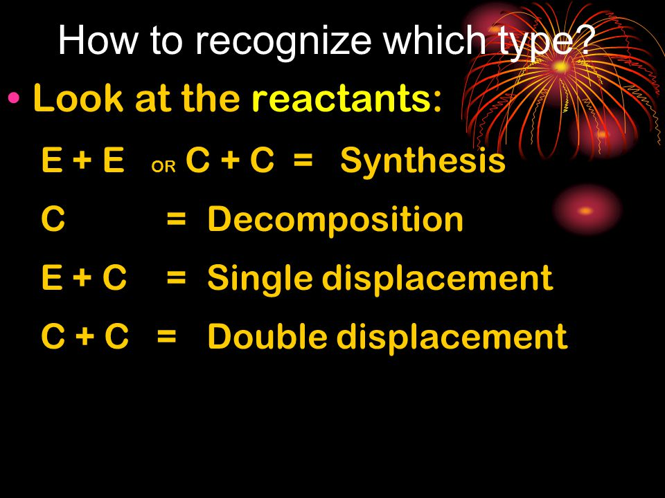 How to recognize which type.