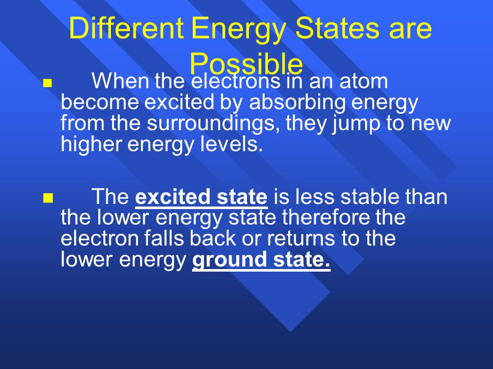 Electrons Surround the Nucleus n n Electrons surround the nucleus and travel at the speed of light n n They are found in only certain allowed energy l