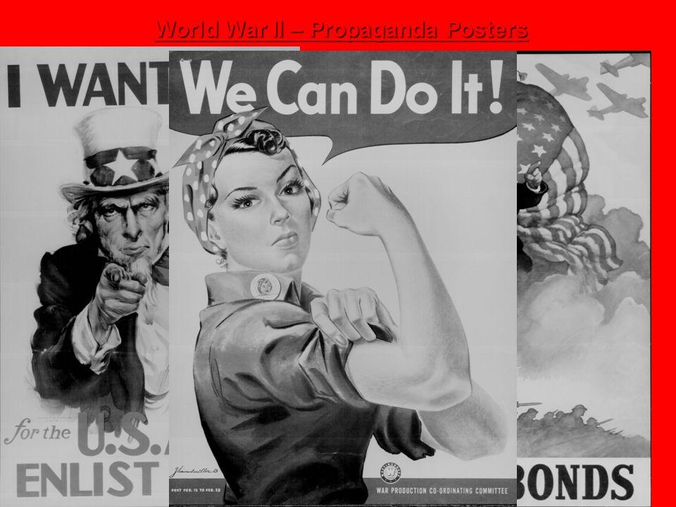 World War II – Propaganda Posters