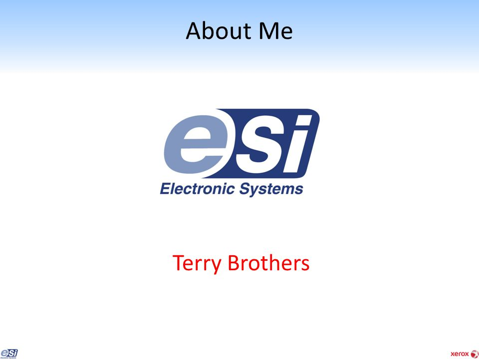 About Me Terry Brothers