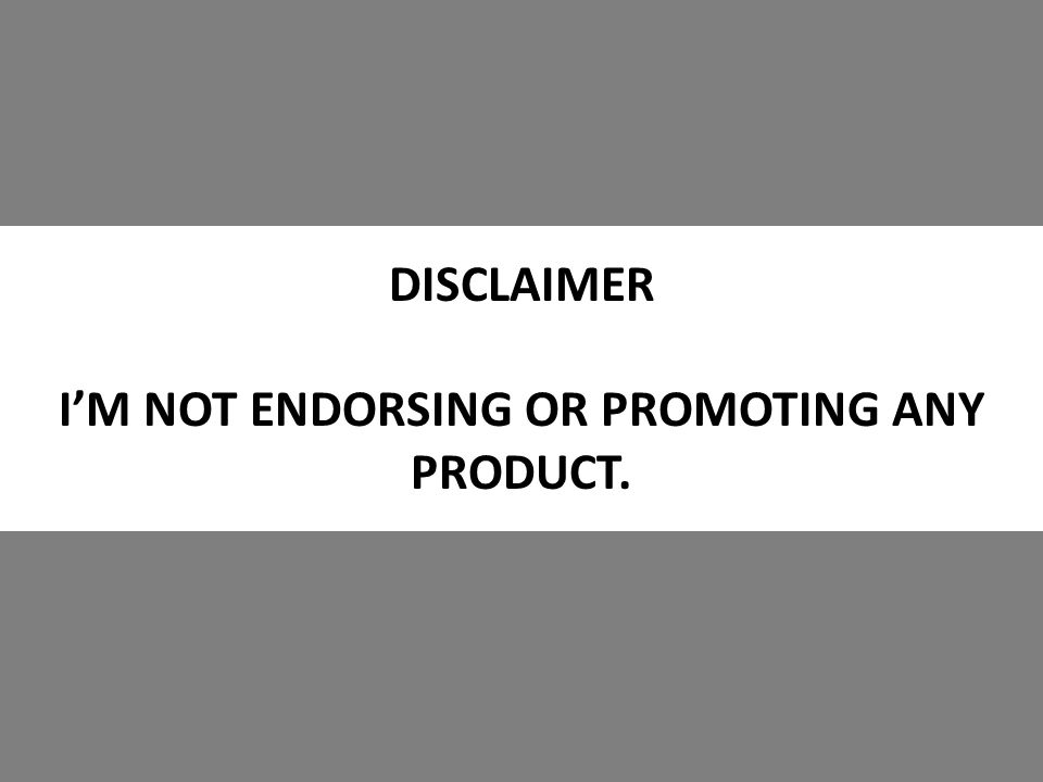 DISCLAIMER I'M NOT ENDORSING OR PROMOTING ANY PRODUCT.