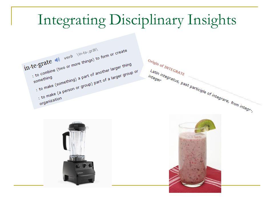 Integrating Disciplinary Insights