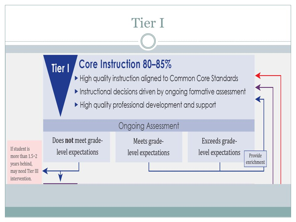 Implementation Guide Provided as a Resource from the TNDOE  Example schedules  Sample forms  Universal Screener and Intervention Rubrics  Guidance for data based decision making  Gap analysis and Rate of Improvement