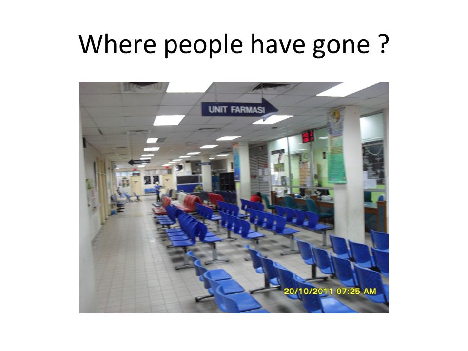 Where people have gone