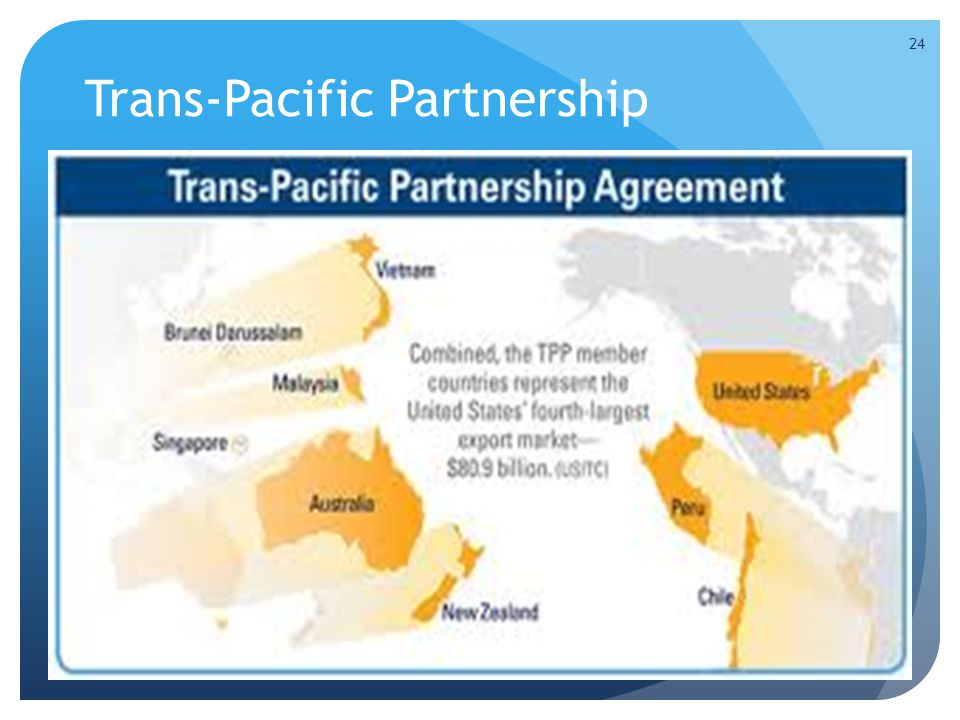 Trans-Pacific Partnership 24