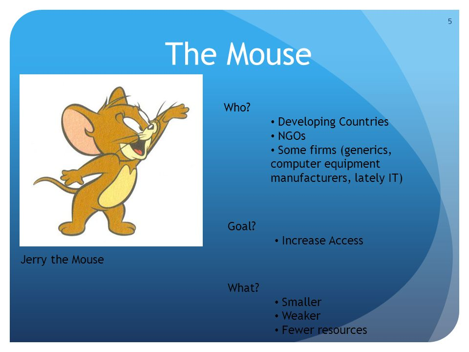 The Mouse 5 Jerry the Mouse Who.