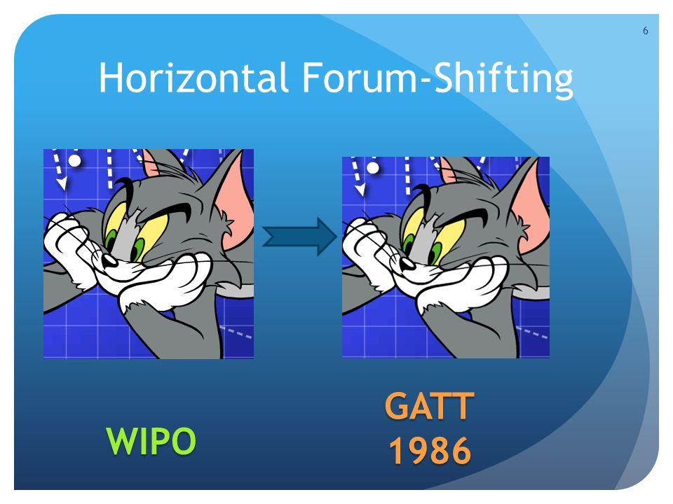 Horizontal Forum-Shifting 6 WIPO GATT1986