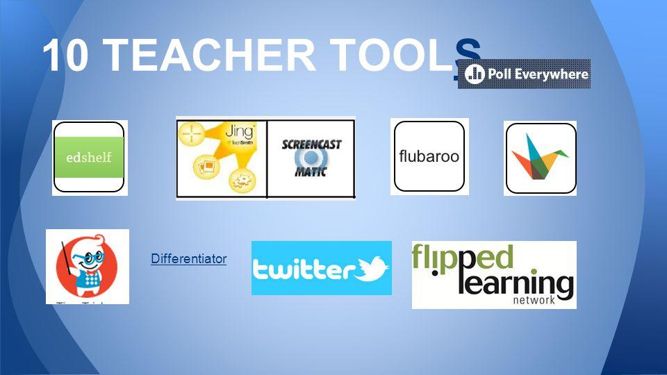 10 TEACHER TOOLSS Differentiator