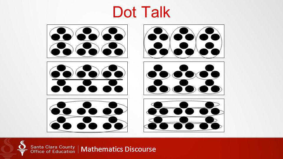 Mathematics Discourse Dot Talk