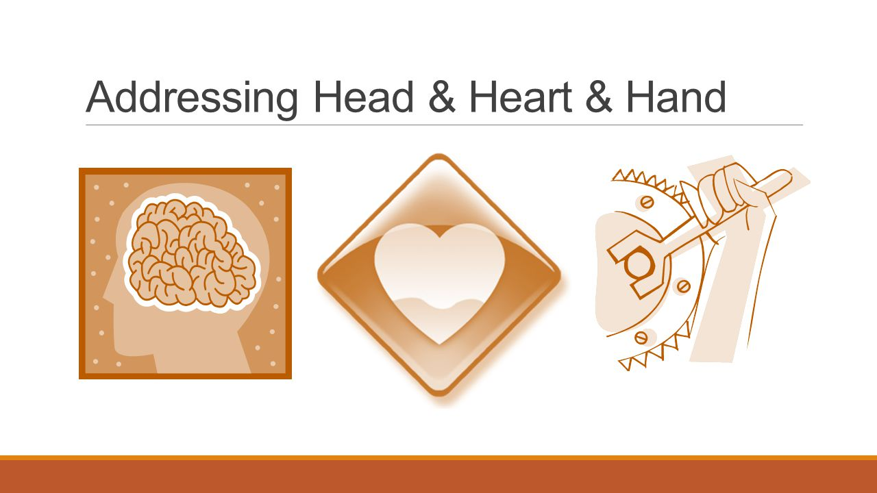 Addressing Head & Heart & Hand