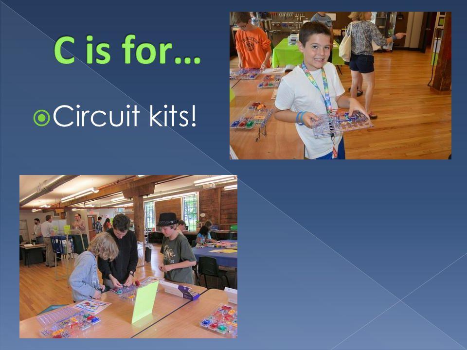  Circuit kits!