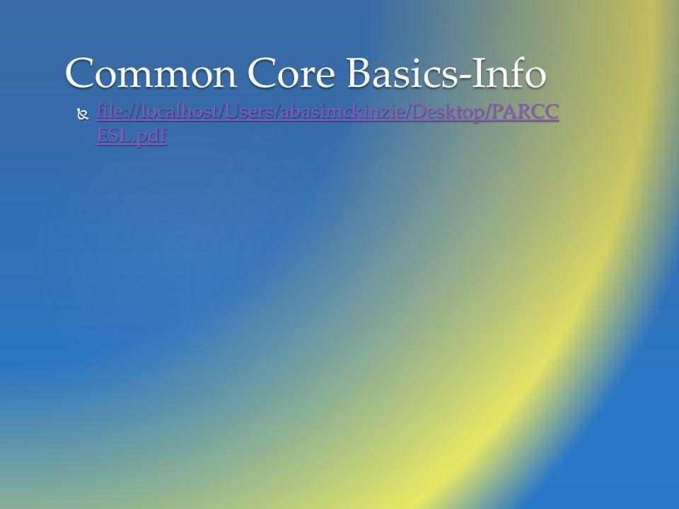  file://localhost/Users/abasimckinzie/Desktop/PARCC ESL.pdf file://localhost/Users/abasimckinzie/Desktop/PARCC ESL.pdf file://localhost/Users/abasimckinzie/Desktop/PARCC ESL.pdf Common Core Basics-Info