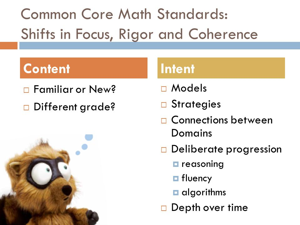 How well does the curriculum emulate the standards?