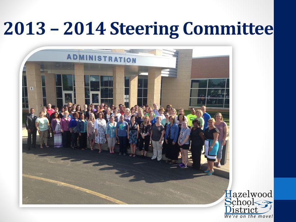 2013 – 2014 Steering Committee