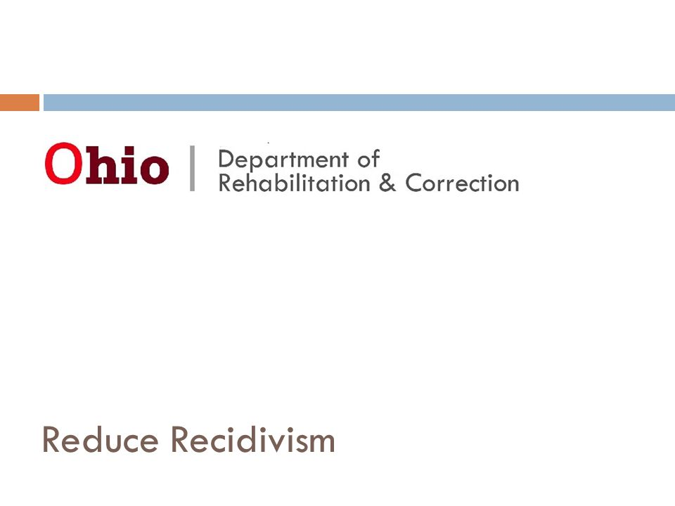 Here To Serve Vision Statement It is the vision of the Ohio Central School System that all inmates of the Department of Rehabilitation and Correction will be provided the necessary academic, job training and social/emotional skills required for successful re-entry to society as effective, participating and productive citizens.