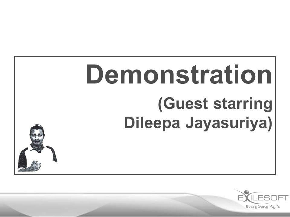 Demonstration (Guest starring Dileepa Jayasuriya)