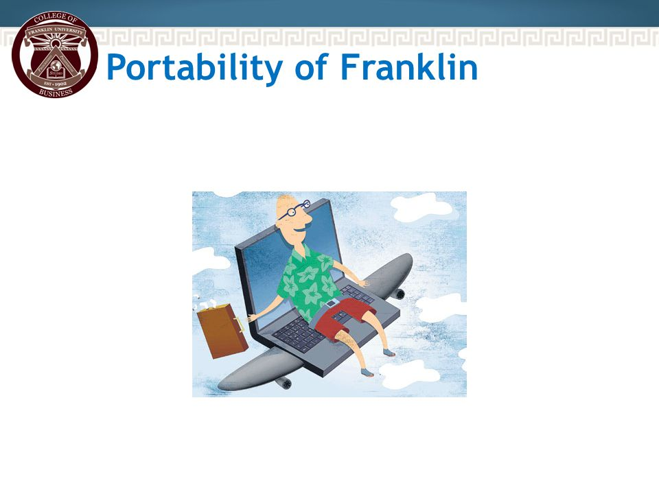 Portability of Franklin