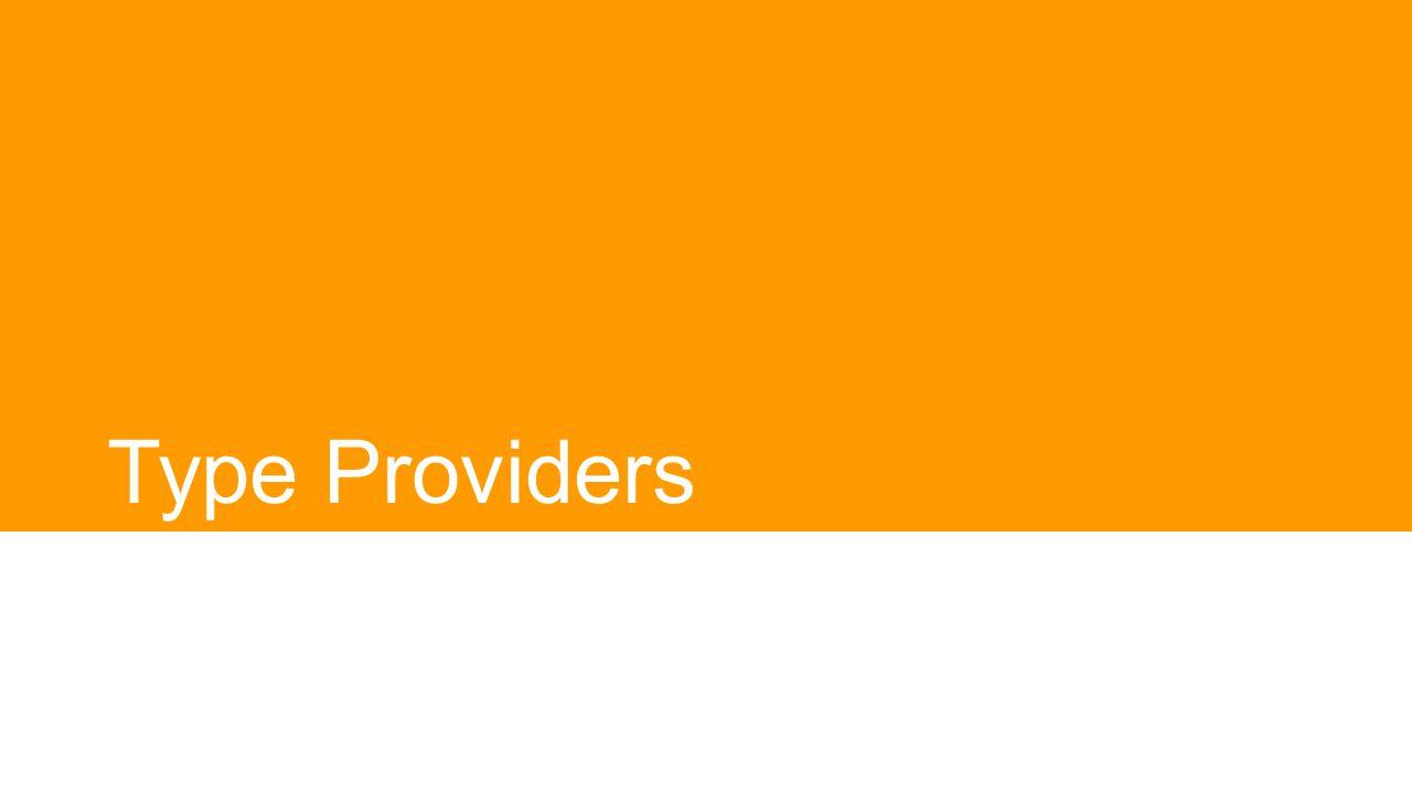 Type Providers