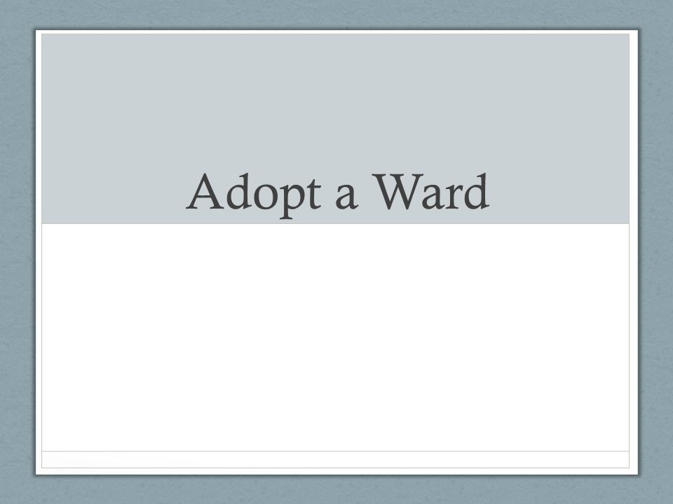What is adopt award.