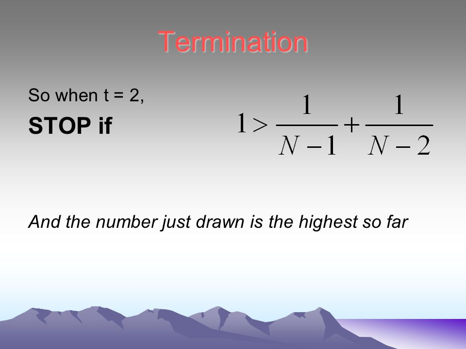 Using the iteration formula From equation (2) when t = 2, So from (1),